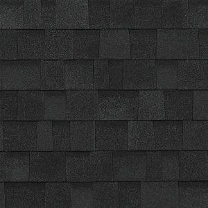 Owens Corning TruDef Oakridge 01 Onyx Black Shingle