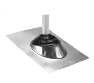 Pipe Boot Galvanized Base 3 in 1