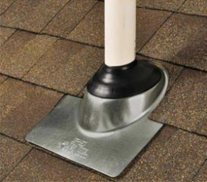 Pipe Boot Galvanized Base 3 in 4