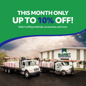 budget roofing supply deal of the month