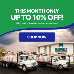 budget roofing supply deal of the month shop now