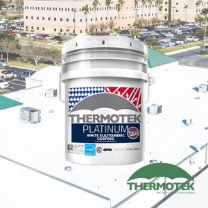 thermotek platinum acrylic on sale by budget roofing supply